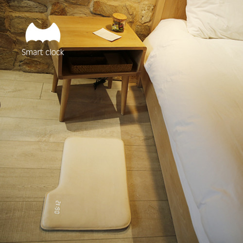 Smart Floor Mat Alarm Clock That Makes You Step On It To Turn It Off
