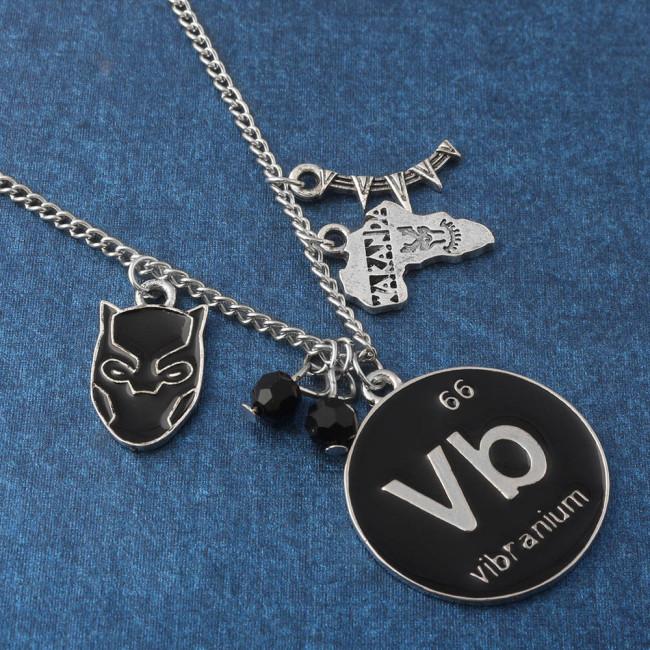 Keyring Wakanda Pendant Necklace