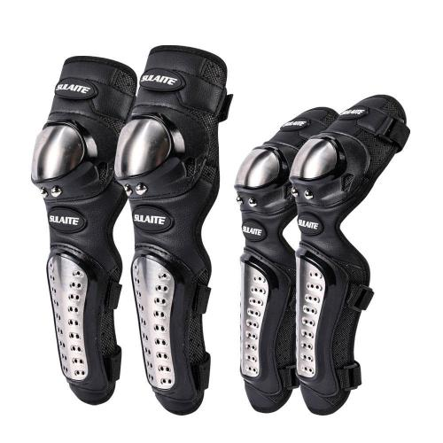 Skating Protective Gear Stainless Steel Knee Pads And Elbow Pads