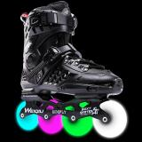Full Flash Wheel Adult Roller Skates Inline Roller Skates Figure Skating Shoes