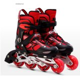 Children's Inline Skates Flashing Roller Full Set Of Kids Adjustable Single Roller Skates