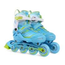 Children's Beginner Rollerblades Adjustable Inline Skate Full Set