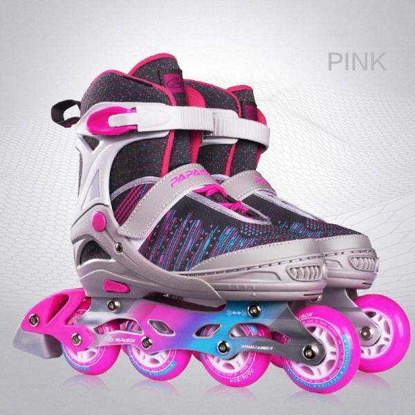 2020 Kids Inline Skates Adjustable New Design 3d Upper For Girls Boys