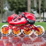 Carbon Fiber Speed Inline Skates Professional Competitive  Rollerblades Kids