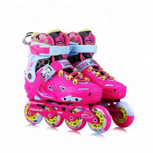 Hot Selling Kids Adjustable Inline Skates Profesional Freestyle Skates