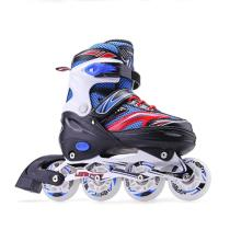 Best Kids Roller Blades Flashing Inline Skates Adjustable For Sale Online