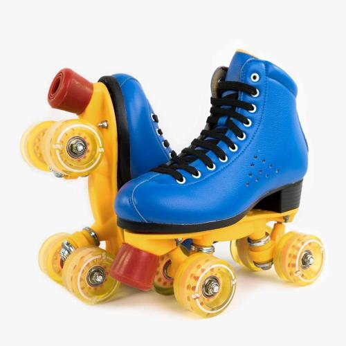 The Classic  Cobalt Blue Roller Skates