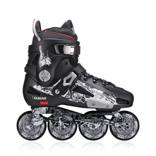 Adult Adjustable Inline Skates for Men and Women Single Rollerblade