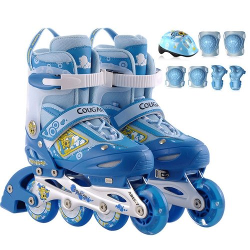 Rollerblade Kids Front Wheel Flash Adjustable Inline Skates