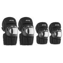 Roller Skating Ski Knee Pads Motorcycle Rider Stainless Steel Knee Pads Elbow Pads