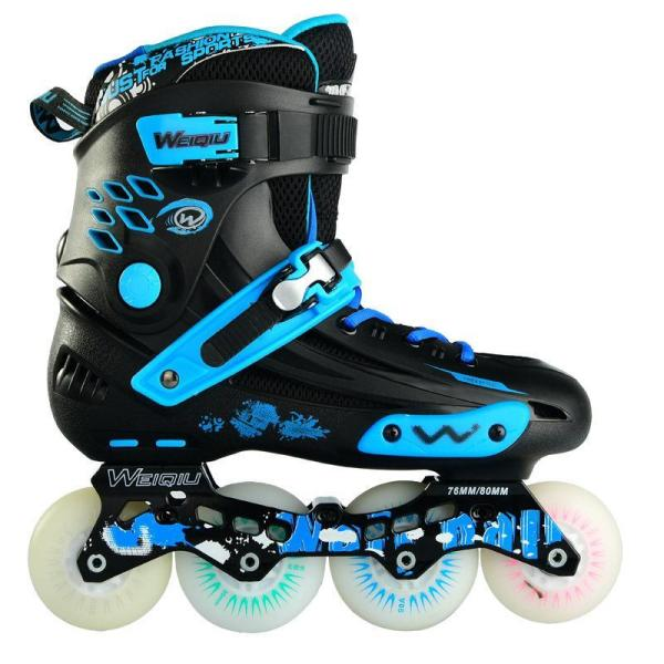 Luminous Wheel Inline Skates Adult Roller Blades