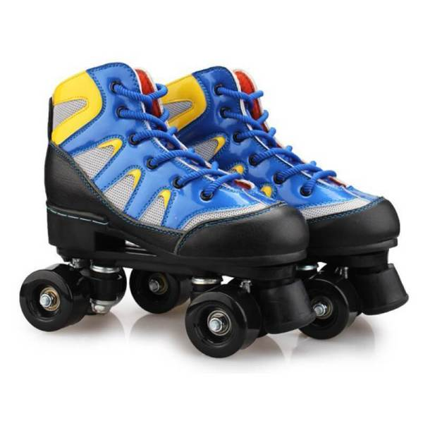 Colorblock Adult Leather Beginner Ourdoor Roller Skates