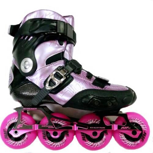 Carbon Fiber Flat Roller Blades Hv Professional Inline Skates