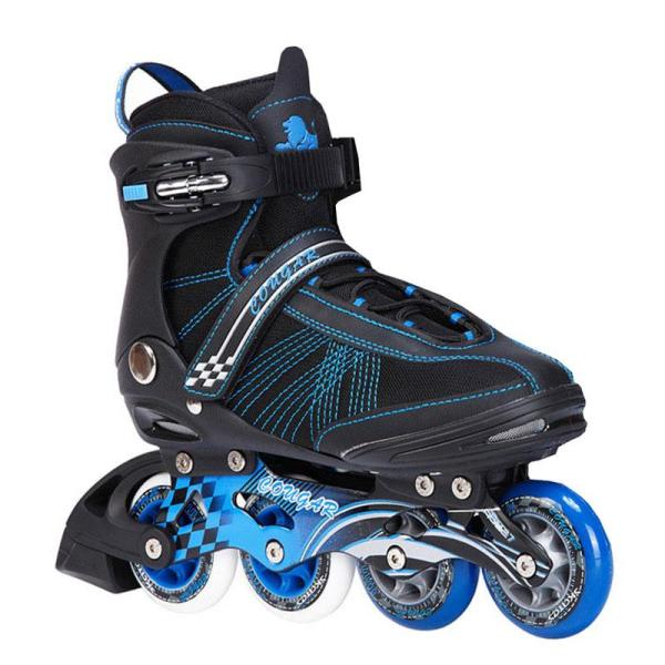 Pink And Blue Rollerblades For Men And Women Inline Skates