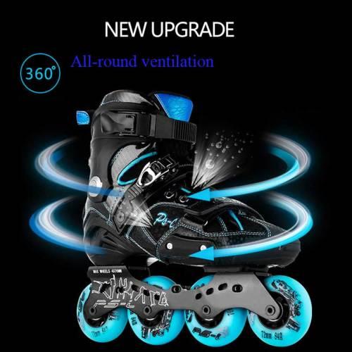 Semi-soft High-end Fashion Rollerblades Fancy Adult Men And Women Inline Skates