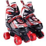 2 IN 1 Kids Roller Skates Adjustable Inline Skates