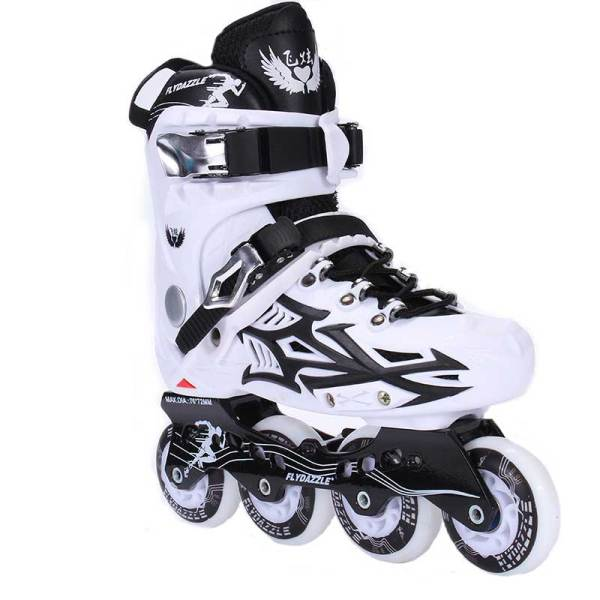 Men and Women Inline Skates Multicolor Single Row Pro Inline Skates