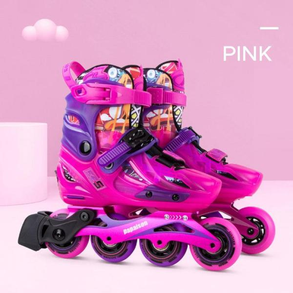 2020 Girls And Boys Inline Skates Latest Professional Adjustable Inline Skates Kids