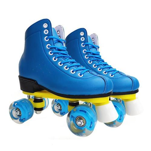 Blue Light Up Roller Skates For Adult And Children