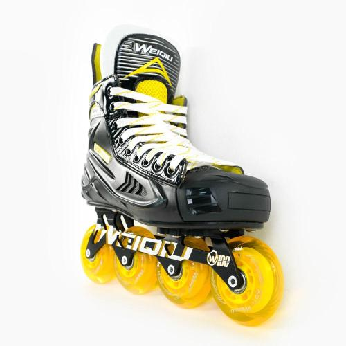W-100 Inline Hockey Roller Skates For Adults, Youth & Kids