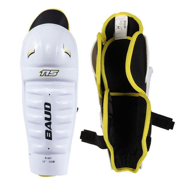 R5 Youth Ice Hockey Skates Knee Pads