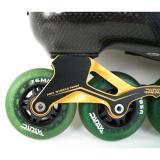 Green Carbon Fiber Roller Blades For Adult