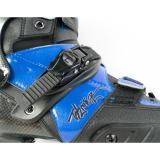 Blue Carbon Fiber Inline Skates For Adult