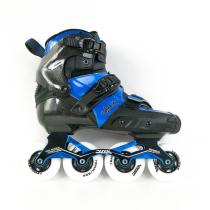 Blue Carbon Fiber Inline Skates For Adult