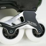 Black Carbon Fiber Inline Skates For Adult