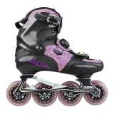 Purple Carbon Fiber Roller Blades For Adult