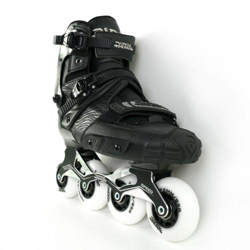 Black Carbon Fiber Inline Skates For Adult