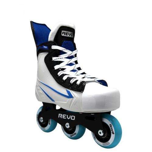 Gray Hockey Inline Roller Skates For Adult Teenager