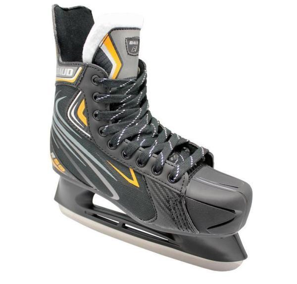 Black Hockey Skates Youth Professional Hockey Skates