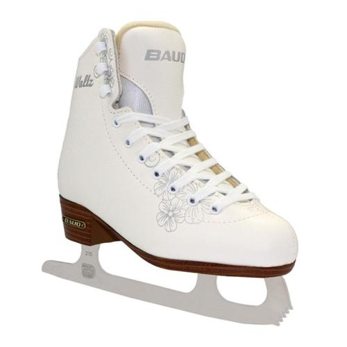 White Genuine Leather Figure Skates For Kid and Adult