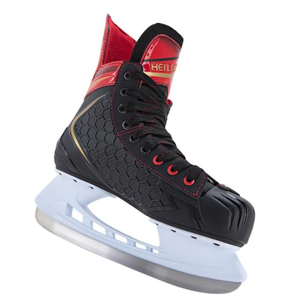 Black and White Hockey Skates Professional For Adult and Kids