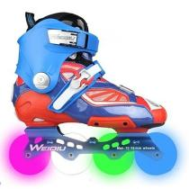 Blue Light-up Specialized Outdoor Rollerblade Inline Skates