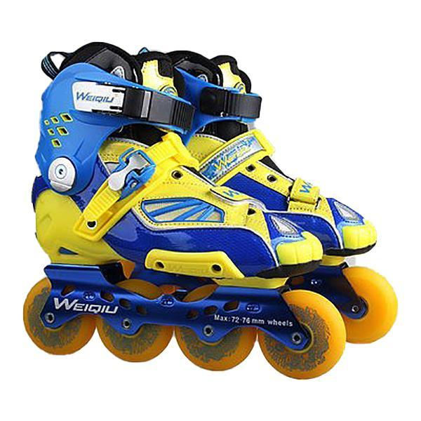 Yellow Blue Specialized Outdoor Rollerblade Inline Skates