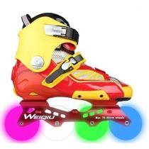 Orange Light-up Specialized Outdoor Rollerblade Inline Skates