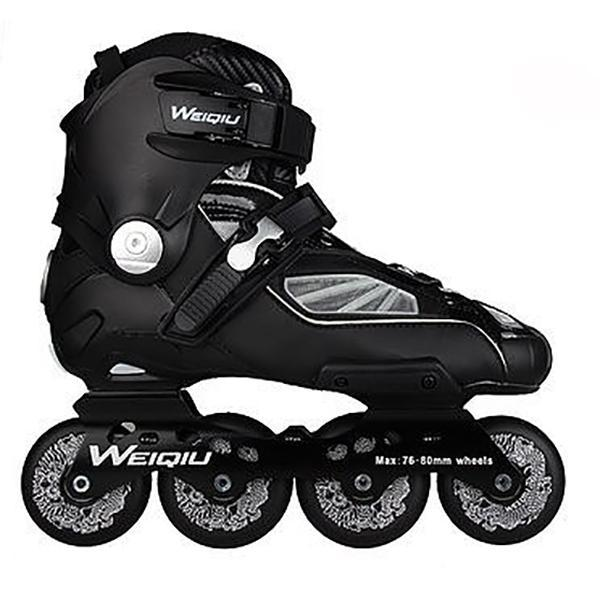 Black and White Specialized Outdoor Rollerblade Inline Skates