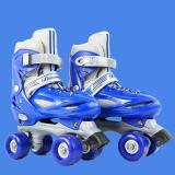 Macaron 2 in 1 Adjustable Skates For Kids, Blue