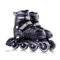 Papaison Adjustable Inline Skates Set For Kids, Grey