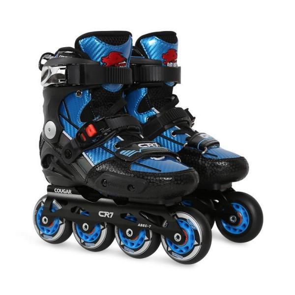CR7 Pro Inline Skates For Kids, Blue