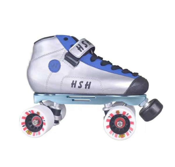 Silver Blue Vanilla Speed Skates Vanilla Junior Skates