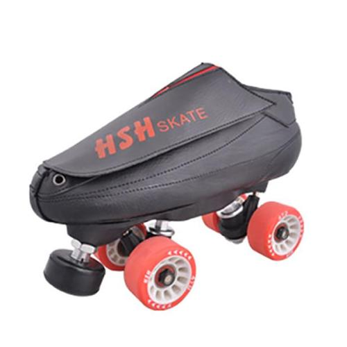 Black Adult Vanilla Quad Skates Roller Skates For Sale