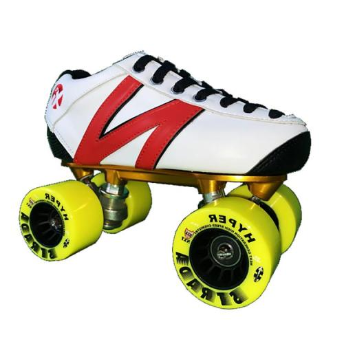 Yellow Wheels Vanilla Roller Skates Vanilla Junior Skates