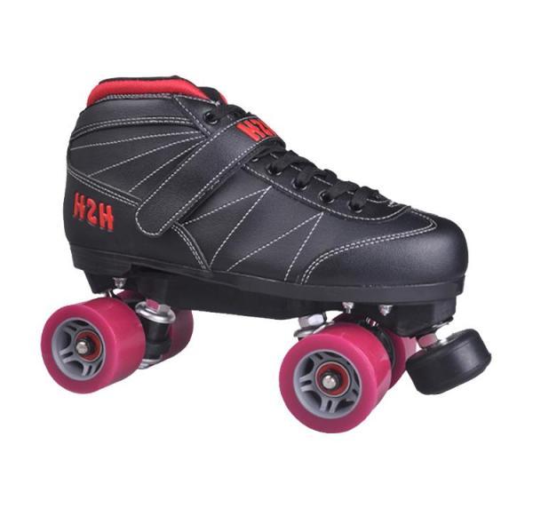 Black Adult Vanilla Roller Skates For Men And Women