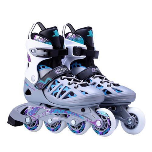 Adult Adjustable Inline Skates Junior Roller Blades for Men and Women
