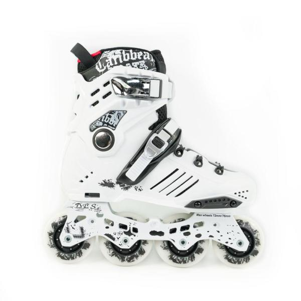 Caribbean Beginner Inline Skates For Adults, White