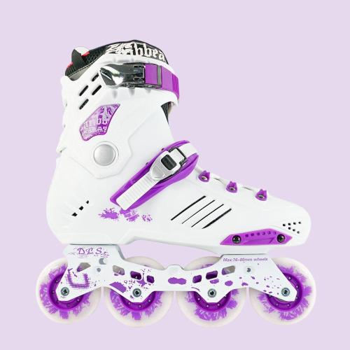 Caribbean Beginner Inline Skates For Adults, Purple
