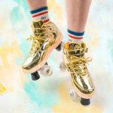 Flash Roller Skates, Gold